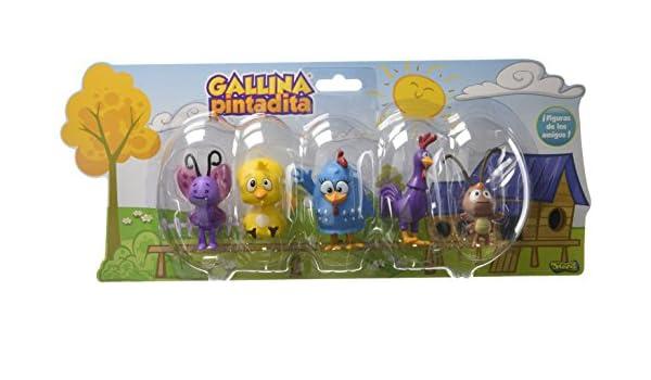 Amazon.com: Galinha Pintadinha Conjunto de Figuras - Turma da Sunny: Toys & Games