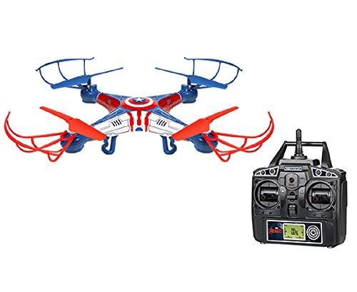 World Tech Toys 2.4Ghz Marvel – Captain America Sky Hero 4.5 Channel RC Drone