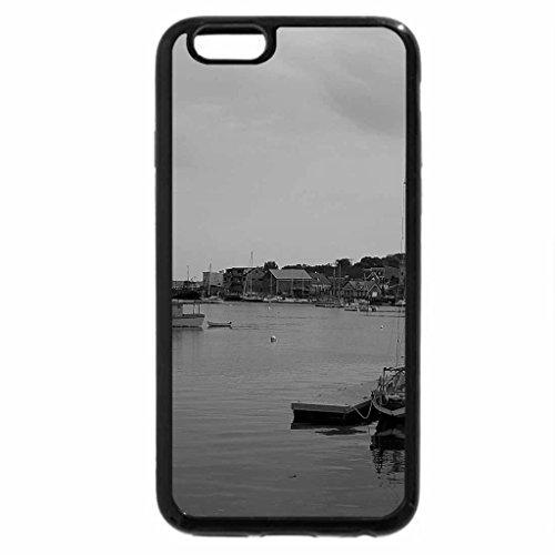 iPhone 6S Case, iPhone 6 Case (Black & White) - Belfast,Maine