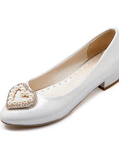 Weiß 5 Fall Low Schuhe eu42 Pink amp; Heels Damen Grau Patent GGX Heels Heel pink 5 cn43 Karriere Nachahmung Casual us10 Büro uk8 Pearl Schuhe qCwRaw5t