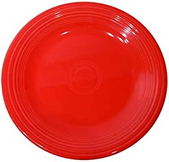Fiesta 10-1/2-Inch Dinner Plate Scarlet  sc 1 st  Amazon.com : red dinner plates - pezcame.com
