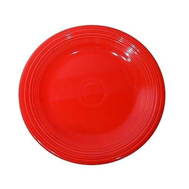 Fiesta 10-1/2-Inch Dinner Plate, Scarlet