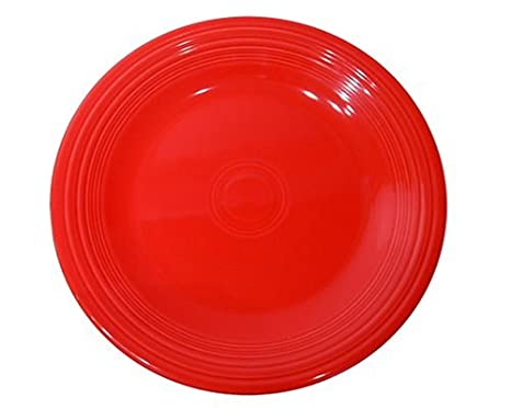 Fiesta 10-1/2-Inch Dinner Plate Scarlet  sc 1 st  Amazon.com : fiestaware dinner plates - pezcame.com