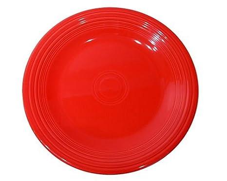 Fiesta 10-1/2-Inch Dinner Plate Scarlet  sc 1 st  Amazon.com & Amazon.com | Fiesta 10-1/2-Inch Dinner Plate Scarlet: Fiestaware ...