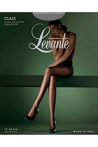 Levante Women's Class Gloss Sheer 12 Denier Pantyhose small (up to 5'4