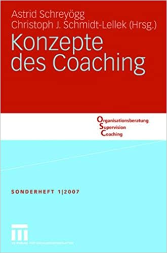 Book Konzepte des Coaching (Organisationsberatung, Supervision, Coaching)