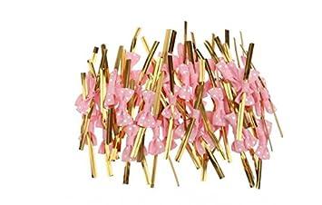 s-love Candy Taschen Butterfly Clip dekorativen Bändern Metallic ...