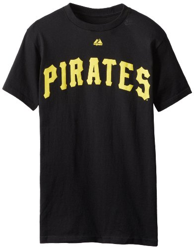 MLB Pittsburgh Pirates Roberto Clemente Cooperstown Collection Black Basic T-Shirt, Black, XX-Large Cooperstown Collection Baseball Jersey