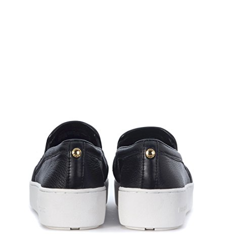 MICHAEL KORS DONNA 43R7PAFP1L 001 SLIP-ON NERO VITELLO MARTELLATO SPRING-SUMMER 2017 Negro