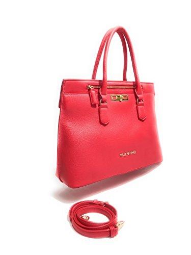 Valentino - Bolso de asas para mujer Rojo rojo