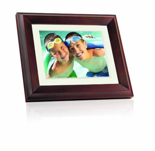 Giinii GH-ADNM 10.4-Inch Digital Picture Frame (Brown)