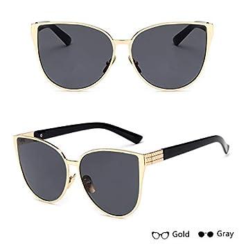 7d8a05ae0e8 BranXin - Luxury Cat Eye Sunglasses For Women Vintage Sunglasses Mirror  Glasses Oversized Sun glasses Female