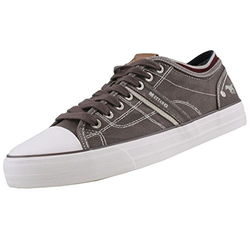 Les Hommes Mustang Espadrille Gris, Chaussures Taille: 49 Eur