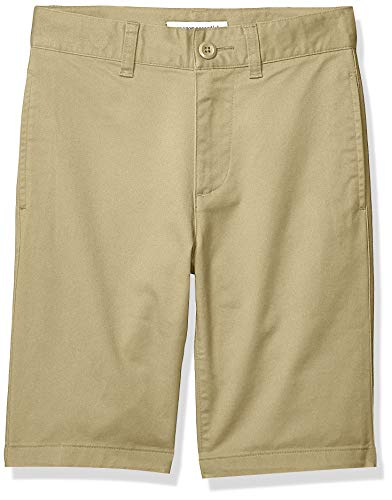 Amazon Essentials Boys' Woven Shorts, Khaki, 16(H) from Amazon Essentials