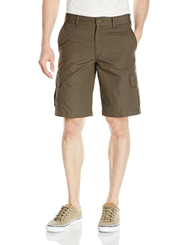 Dickies Men's 11 Inch Relaxed Fit Lightweight Ripstop Cargo Short, Moss, ()