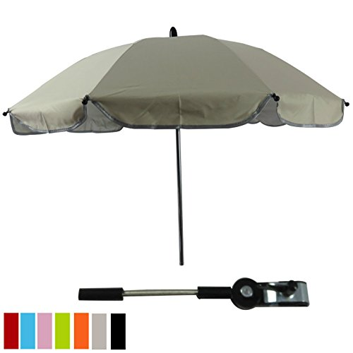 White Parasol For Pram - 9