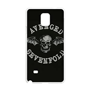 Samsung Galaxy Note 4 Cell Phone Case White Avenged Sevenfold Phone cover E1350743