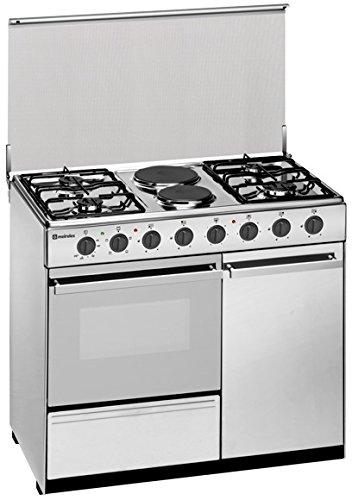 Meireles E 9421 V - Cocina (Cocina independiente, Acero inoxidable, Giratorio, Frente