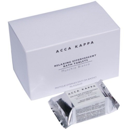 Acca Kappa Bathtablets White Moss 6 pcs [Personal Care]