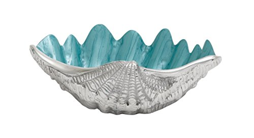 (Woodland Imports Cool and Beautiful Aluminum Shell Bowl)