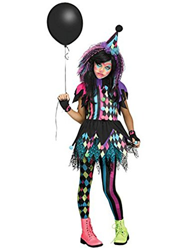 Circus Costumes (Girls Twisted Circus Clown Costume)