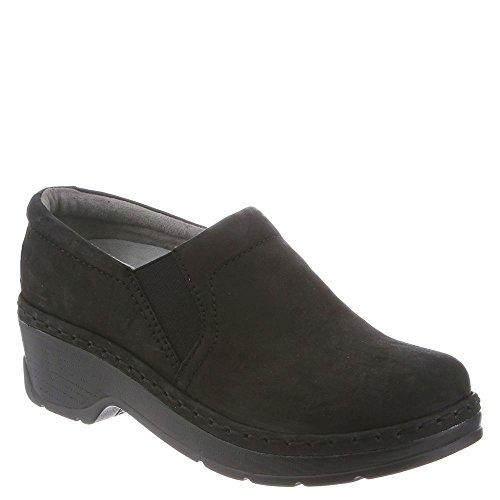 Klogs Men's Nashua Slip Resistant Black Clog 9 M by Minnetonka