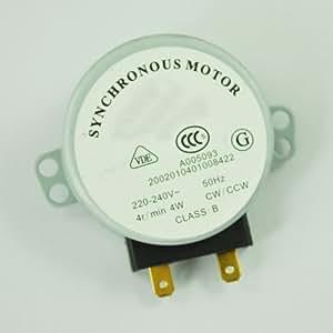 Amazon.com: TOOGOO (R) Motor Síncrono Horno de microondas ...