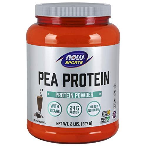 , Pea Protein Powder, Creamy Chocolate, 2-Pound ()