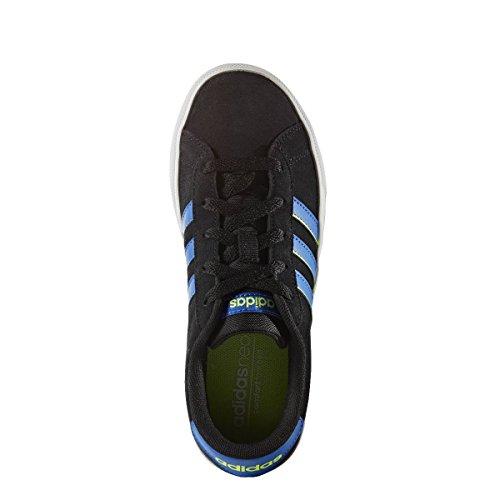adidas DAILY TEAM K - Zapatillas deportivaspara niños, Negro - (NEGBAS/AZUL/AMASOL), -5
