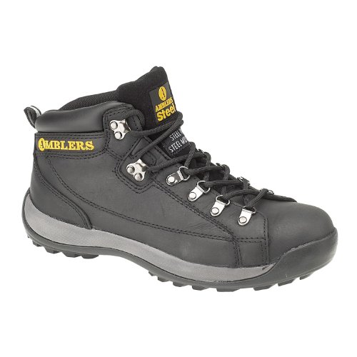 Boot Amblers Boots Steel Black Safety FS123 Mens 8qwvxFO