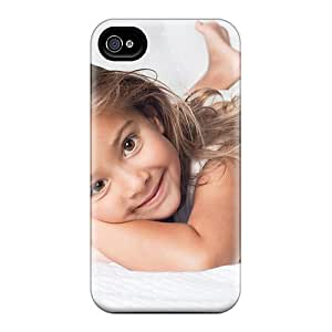 New Design Shatterproof LWS8227NYhj Cases For Iphone 6 (people Children Smiling Girl)