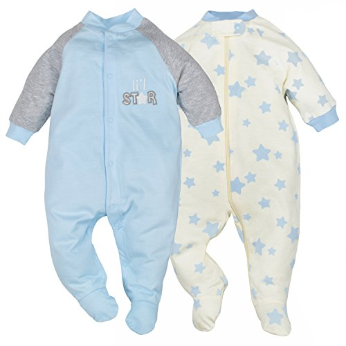dressing a baby for sleep - 9