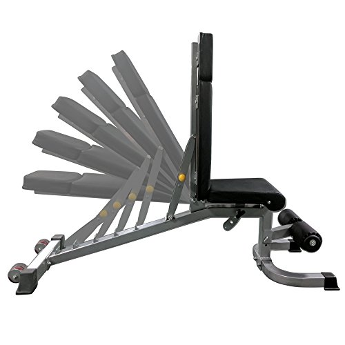 Titan Adjustable Weight Bench - 1000 LB Capacity - Incline Decline Flat by Titan Fitness (Image #3)