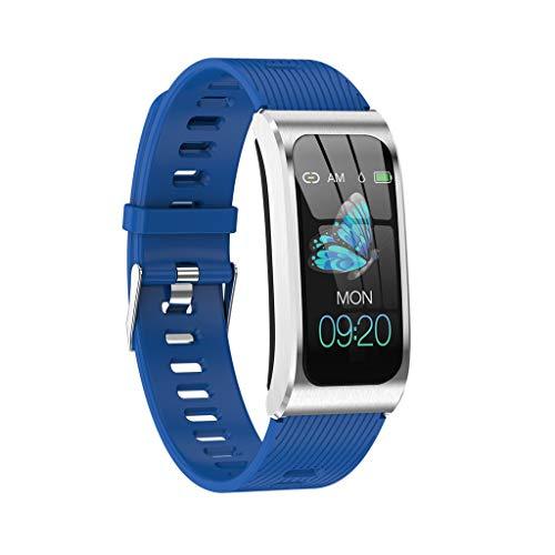 (FILOL AK Fitness Tracker, Blood Pressure Tracker Smart Watch Waterproof Smart Bracelet Wristband with Heart Rate Blood Pressure Sleep Monitor GPS Step Calorie Pedometer for Kids Women Men (C))