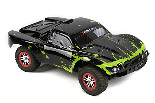 SummitLink Compatible Custom Body Muddy Green Over Black Replacement for 1/10 Scale RC Car or Truck (Truck not Included) SS-BG-02