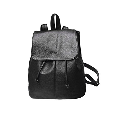 Tivolii Fashion Shoulder Bag Rucksack PU Leather Women Girls Ladies Backpack Travel Bag by Tivolii