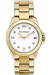 Juicy Couture Women's 1901281 Malibu Analog Display Quartz Gold Watch