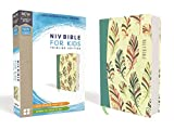 NIV, Bible for Kids, Flexcover, Teal, Red Letter Edition, Comfort Print: Thinline Edition