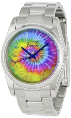 Freelook Men's HA5304-6E Viceroy Dye Multicolor Dial Stainless-Steel Case and Bracelet Watch