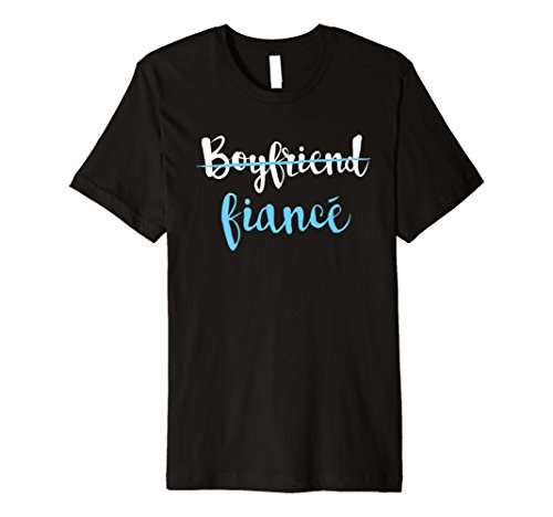 Engaged Couple Engagement Party Gift T-Shirt Fiance