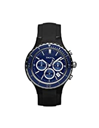 Mens DKNY Donna Karan Chrono Date Black Rubber Sport Watch NY1469