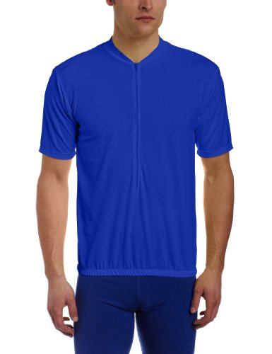 BDI Men's Classic Cycling Jersey, Blue, X-Large