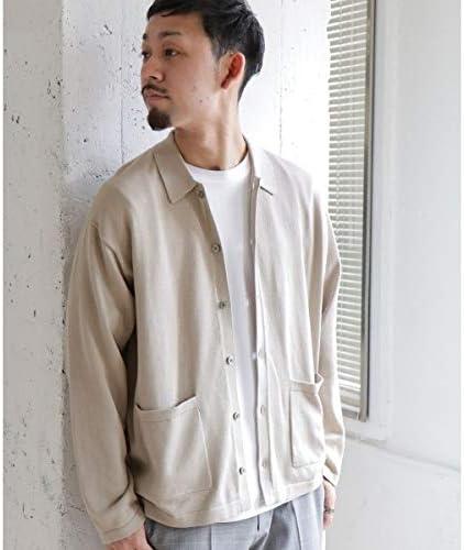 (URBAN RESEARCH DOORS) メンズセーター(ウォッシャブルニットシャツ)