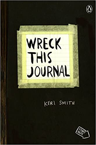 Wreck This Journal Black Expanded Ed Keri Smith 9780399161940