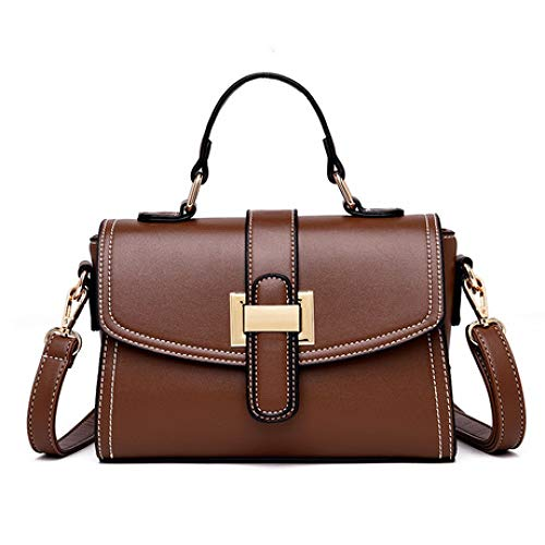 Sacs Version Beige simple Zhwei Couleur New bandoulière Mode bandoulière Sac Bag Women coréenne Marron à nqWxWXRATf