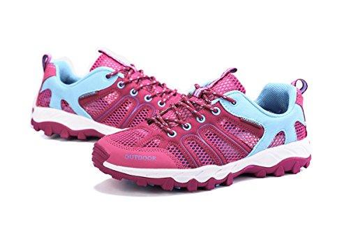 Pingye Wandelschoenen Bergschoenen Outdoor Wandelen Sneakers Voor Mannen Vrouwen Hs996 Rose