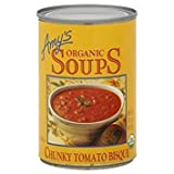 AMY'S ORGANIC SOUP CHUNKY TOMATO BISQUE 14.5 OZ