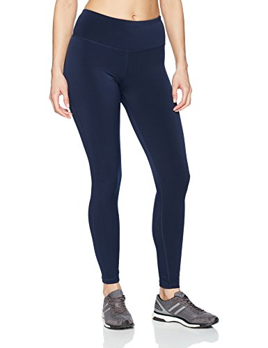 Amazon Essentials Women's Performance Full Length Legging, Navy, - Workout Womens Pant Essentials