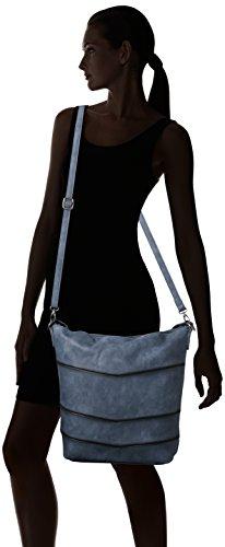 Lado Mujer Medio Azul Sally De Hobo Bag denim Bolsa Tamaris SapBPwAqn