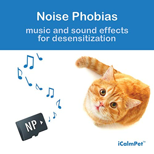 Music for Cat Noise Phobia, Music and Sound Therapy Techniques by Through a Cats Ear | Micro SD Sound Card